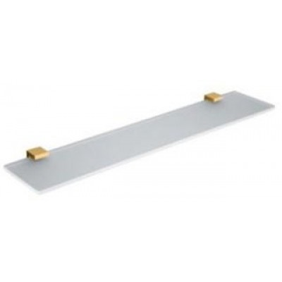 Полочка COLOMBO DESIGN LULU B6216.GOLD стеклянная