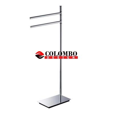 Стойка COLOMBO DESIGN SQUARE B9901 напольная с полотенцедержателем