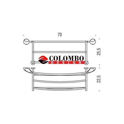 Полотенцедержатель COLOMBO DESIGN MELO B1287 Лесенка