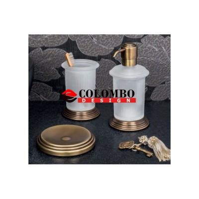 Стакан COLOMBO DESIGN HERMITAGE B3341.GOLD настольный