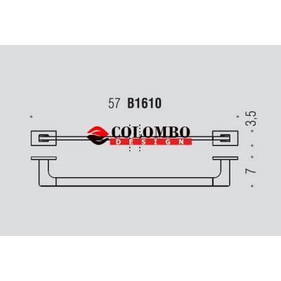 Полотенцедержатель COLOMBO DESIGN LOOK B1611.NM широкий