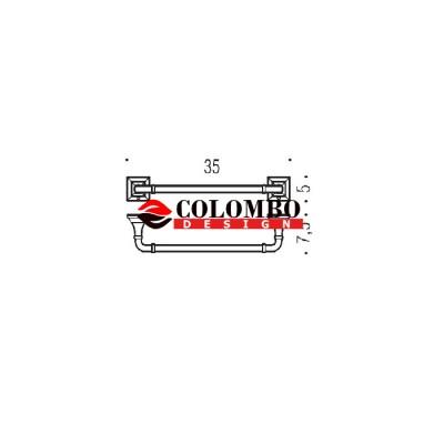 Полотенцедержатель COLOMBO DESIGN PORTOFINO B3209.BR широкий