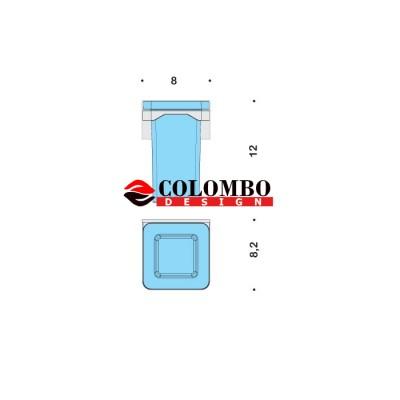 Стакан COLOMBO DESIGN FOREVER B2902 настенный