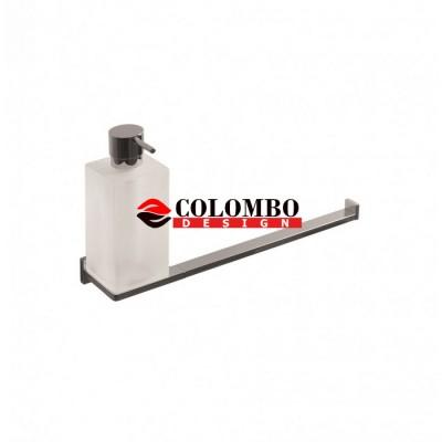 Полотенцедержатель с дозатором COLOMBO DESIGN LOOK B1674 настенный