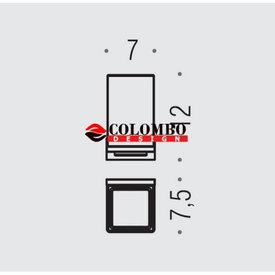 Стакан COLOMBO DESIGN LOOK B1602.BM настенный
