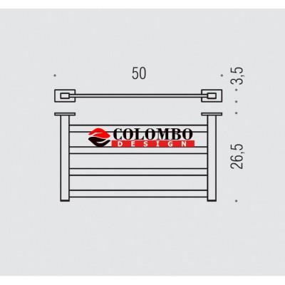 Полотенцедержатель COLOMBO DESIGN LOOK B1687 Полка