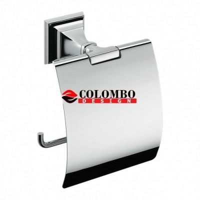 Держатель туалетной бумаги COLOMBO DESIGN PORTOFINO B3291 с крышкой