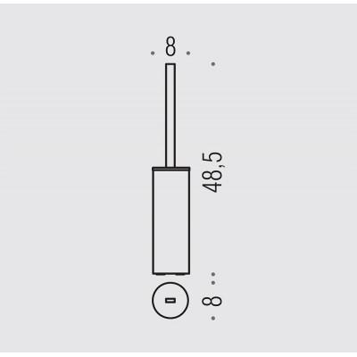Ершик COLOMBO DESIGN NORDIC B5206 напольный