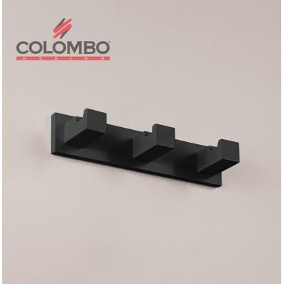 Крючок COLOMBO DESIGN LOOK LC37.NM тройной