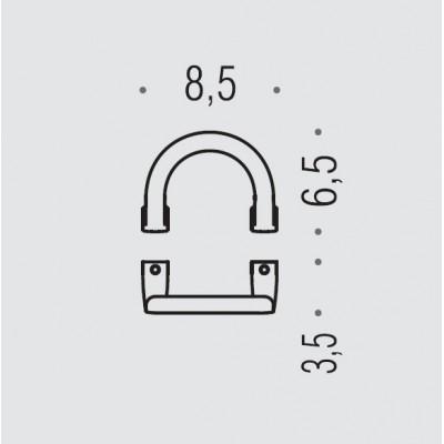 Крючок COLOMBO DESIGN LULU LC47.GOLD одинарный