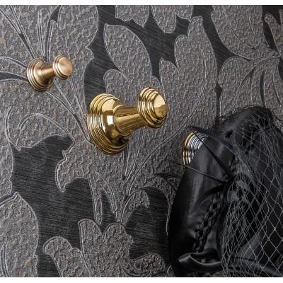 Крючок COLOMBO DESIGN HERMITAGE LC87.GOLD одинарный большой