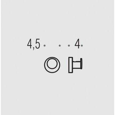Крючок COLOMBO DESIGN PLUS W4917 одинарный