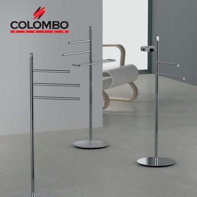 Стойка COLOMBO DESIGN PLANETS B9814 напольная с полотенцедержателем с мыльницей