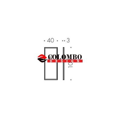 Зеркало COLOMBO DESIGN FASHION MIRRORS B2040 настенное в раме