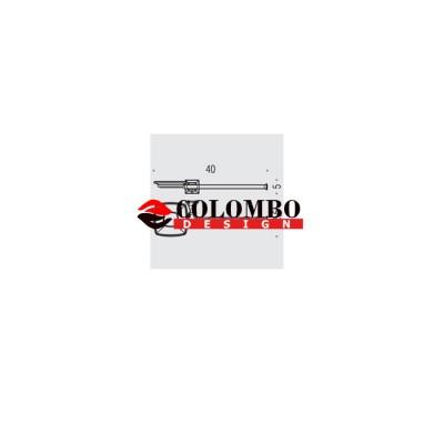 Полотенцедержатель с дозатором COLOMBO DESIGN PORTOFINO B3274SX настенный