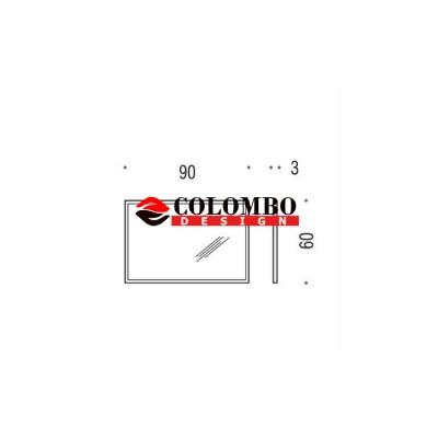 Зеркало COLOMBO DESIGN FASHION MIRRORS B2041 настенное в раме