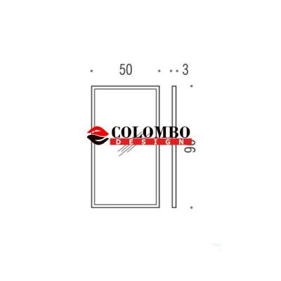Зеркало COLOMBO DESIGN FASHION MIRRORS B2043 настенное в раме