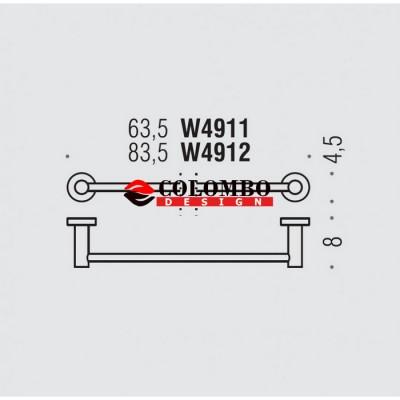 Полотенцедержатель COLOMBO DESIGN PLUS W4911.BM широкий