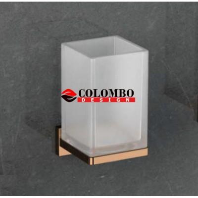 Стакан COLOMBO DESIGN LOOK B1602.VL настенный
