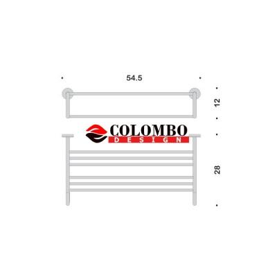 Полотенцедержатель COLOMBO DESIGN BASIC B2787 Полка двойная