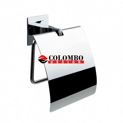 Держатель туалетной бумаги COLOMBO DESIGN FOREVER B2991 с крышкой