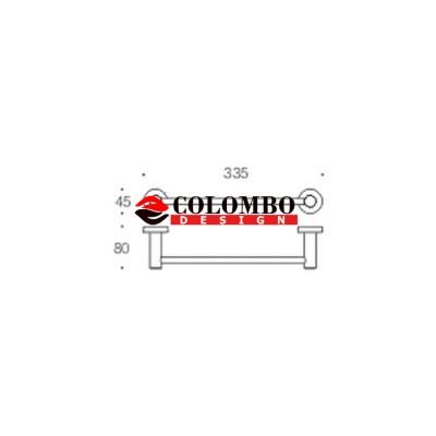 Полотенцедержатель COLOMBO DESIGN PLUS W4909.BM широкий