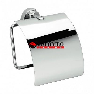 Держатель туалетной бумаги COLOMBO DESIGN NORDIC B5291 с крышкой