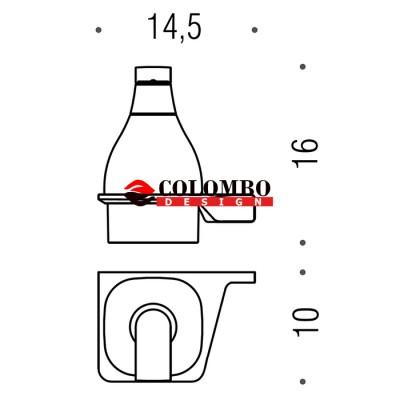 Дозатор COLOMBO DESIGN ALIZE B9330DX настенный