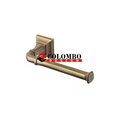 Держатель туалетной бумаги COLOMBO DESIGN PORTOFINO B3208DX.BR без крышки