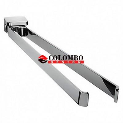 Полотенцедержатель COLOMBO DESIGN ALIZE B2512 двойной
