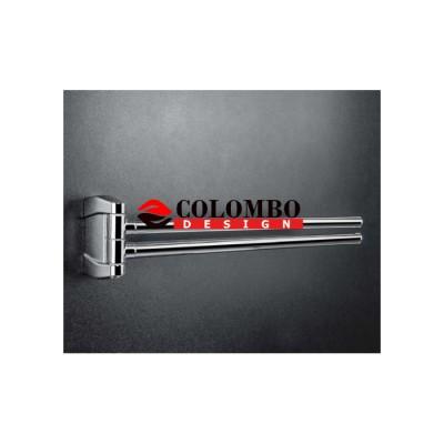 Полотенцедержатель COLOMBO DESIGN ROAD B8012.CB двойной