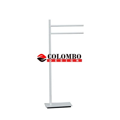 Стойка COLOMBO DESIGN SQUARE B9901.BM напольная с полотенцедержателем