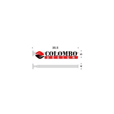 Полотенцедержатель COLOMBO DESIGN NORDIC B5212 двойной