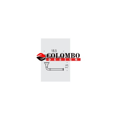 Держатель туалетной бумаги COLOMBO DESIGN PORTOFINO B3208DX без крышки