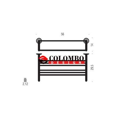 Полотенцедержатель COLOMBO DESIGN HERMITAGE B3387 Полка двойная