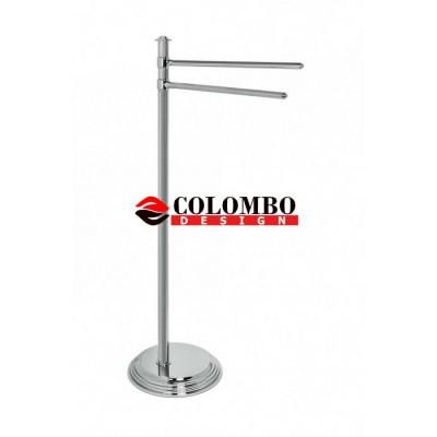Стойка COLOMBO DESIGN HERMITAGE B3338 с полотенцедержателем