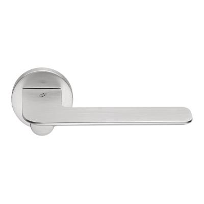 Дверная ручка Colombo SLIM FF11R хром матовый