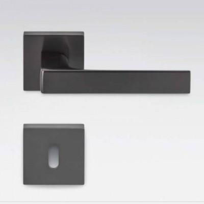 Дверная ручка Colombo ROBOCINQUE S ID71R черный матовый