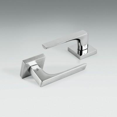 Дверная ручка Colombo ROBOCINQUE S ID71R хром матовый