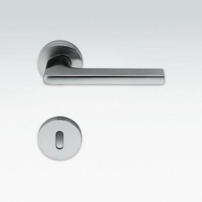 Дверная ручка Colombo GIRA JM11R хром матовый