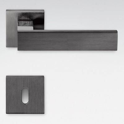Дверная ручка Colombo ALBA LC91R графит матовый/графит