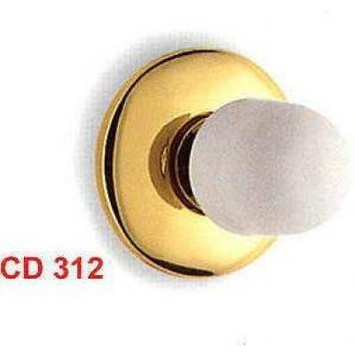 Ограничитель дверной Colombo CD312 золото