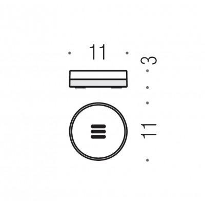 Мыльница COLOMBO DESIGN NORDIC B5240 настольная