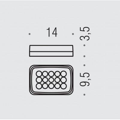 Мыльница COLOMBO DESIGN TIME W4201 настенная