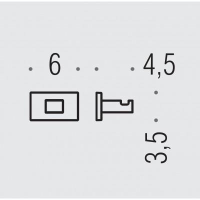 Крючок COLOMBO DESIGN LOOK LC27.BM одинарный