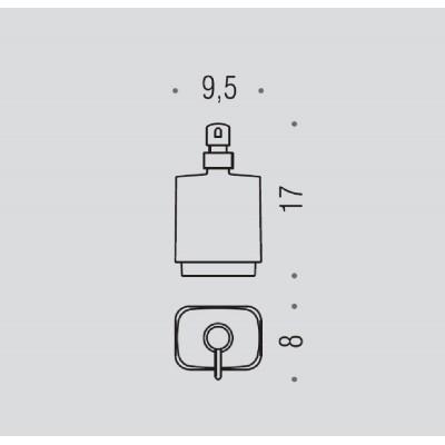 Дозатор COLOMBO DESIGN TIME W4281 настольный