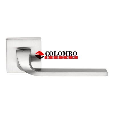 Дверная ручка Colombo ISY BL11RSB (6мм) хром матовый