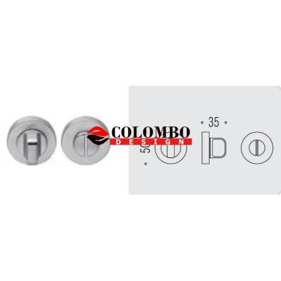 Фиксатор сантехнический Colombo Rosetta CD49 BZGG графит