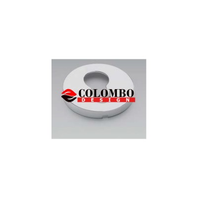 Накладка под цилиндр Colombo Rosetta FF13 хром