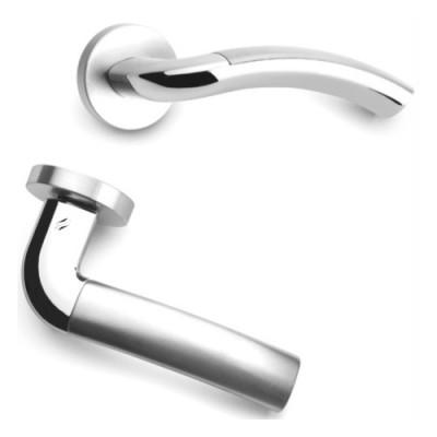 Дверная ручка Colombo MILLA LC31RSB хром/хром матовый